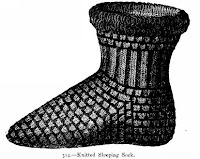 Sleeping Sock Knitting Pattern