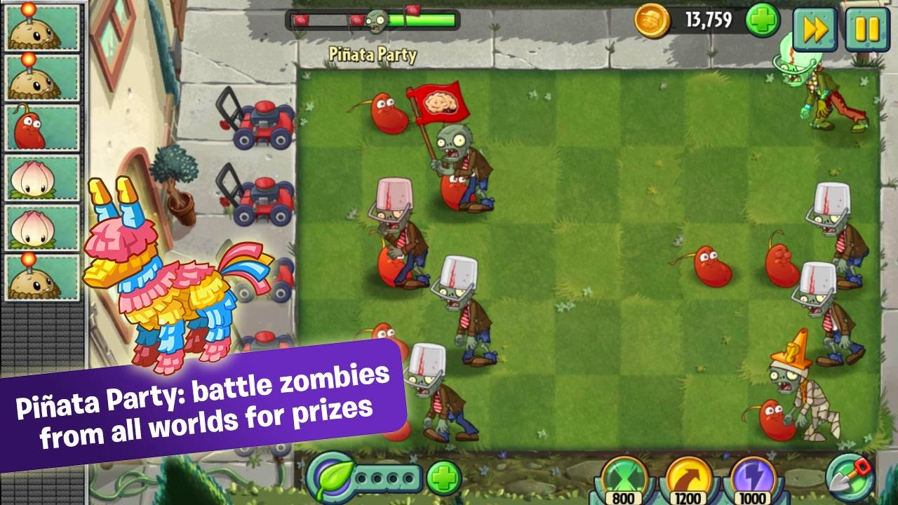 Plants Vs Zombies 2 1.9.2 android