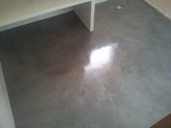 Microcemento castellon pavimentos ba o microcemento - Pavimento de microcemento ...