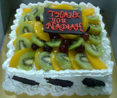 Tropical Fruits Cake