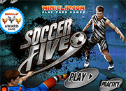 juegos de futbol soccer five 3d