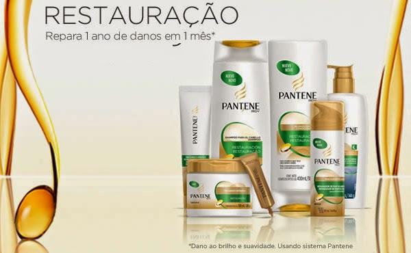 Pantene Pro V coleção Restauração com formula antioxidante