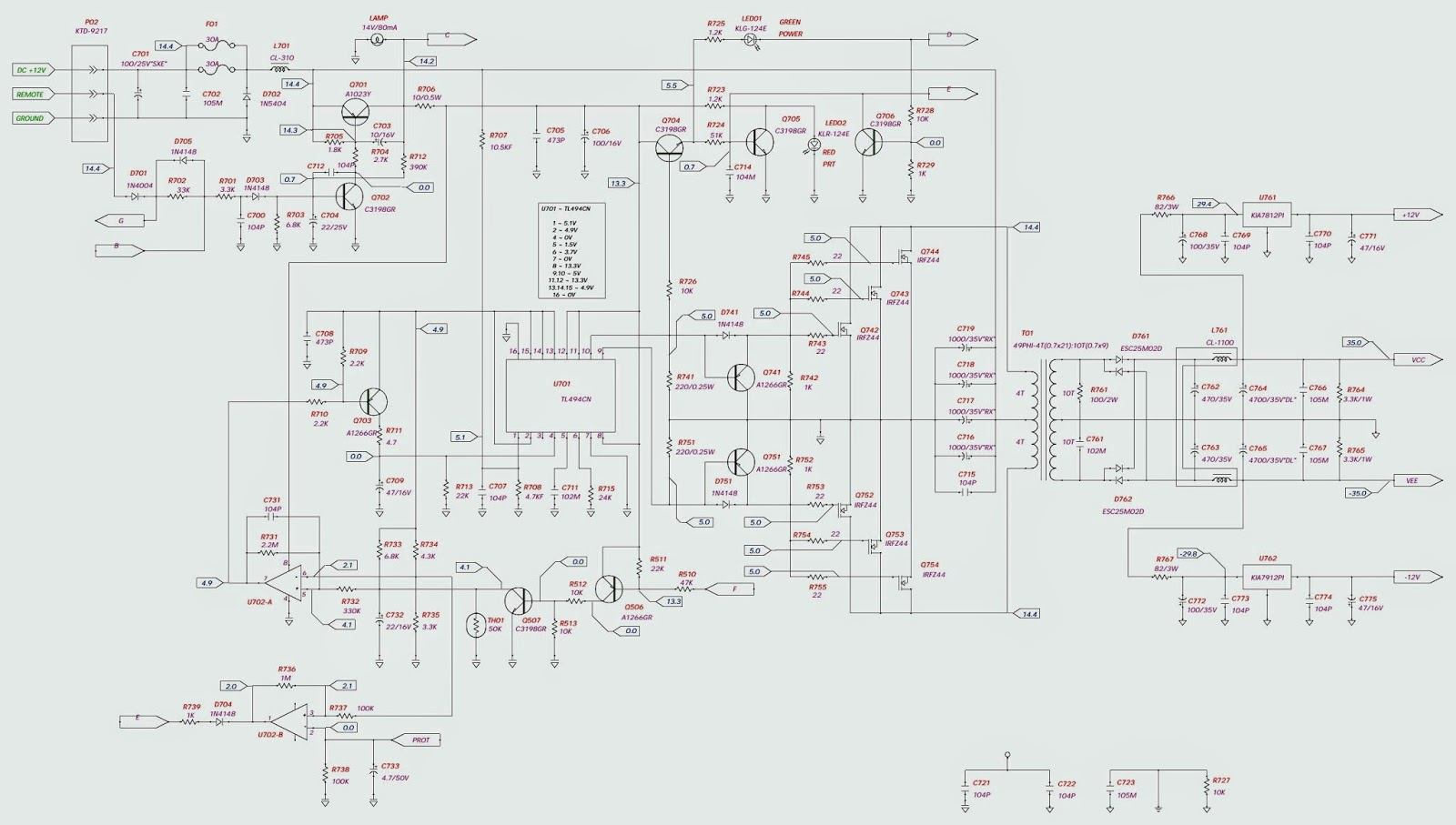 5 channel transmitter schematic  5  free engine image for