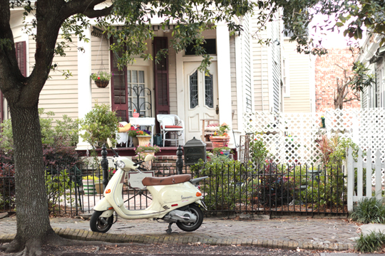 New Orleans scooter