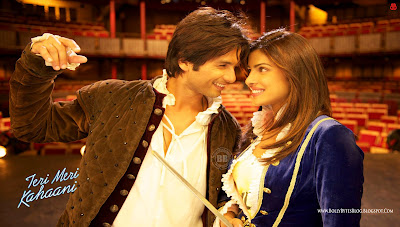 Teri Meri Kahaani HD High Resolution  Wallpapers - featuring Shahid Kapoor, Priyanka Chopra