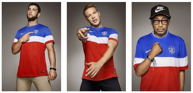 Jersey Amerika Away Piala Dunia 2014 Grade Ori Official