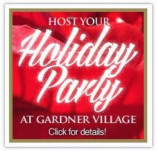 Host Your Holiday Party at Gardner Village