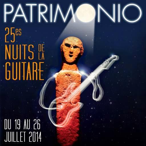 Affiche les Nuits de la Guitare à Patrimonio