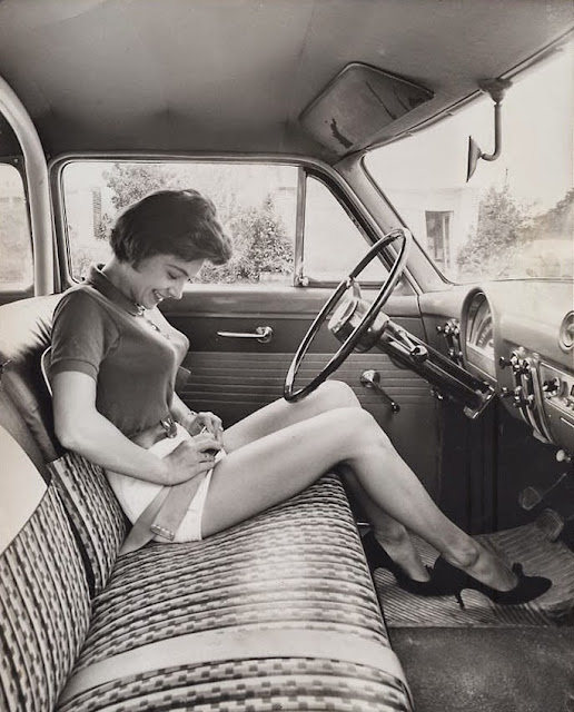 Seat Belt and Girl