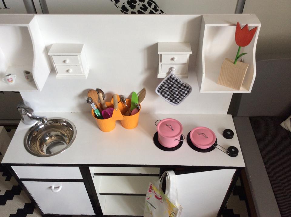 Kuchnia dla dziecka DIY  Mama trojki pl -> Kuchnia Dla Dziecka Z Szafki