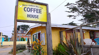 Coffee shop in Monterey