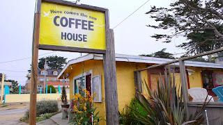 Coffee shop in Monterey