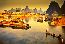 Lijiang River and Its Cruise