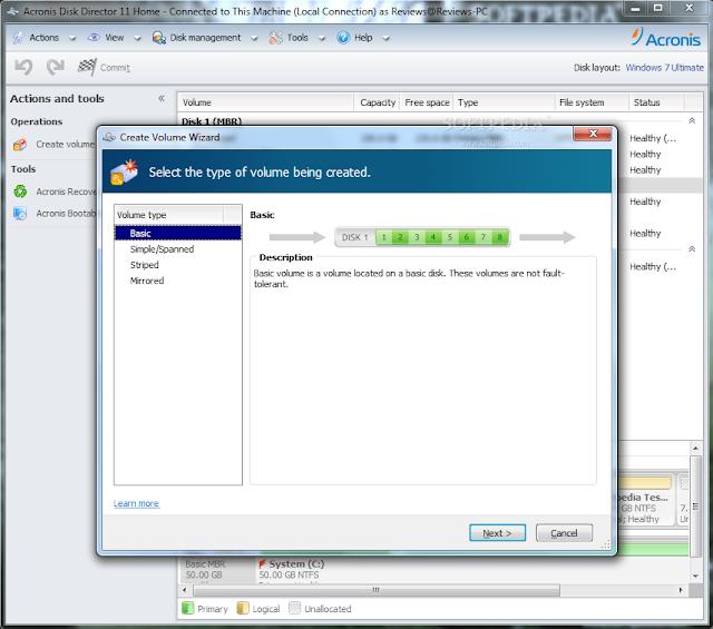 О программе: Acronis Disk Director Suite 11 - это простая в использовании и