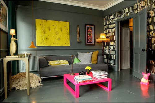 Sala De Estar Com Cinza ~ Cinza na sala de estar ~ Decorando por ai