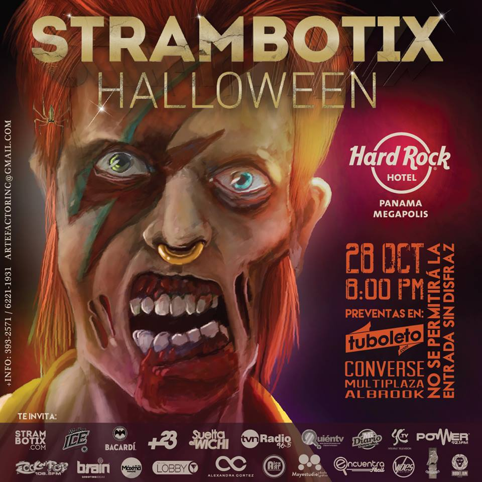 Strambotix Hallowee Party