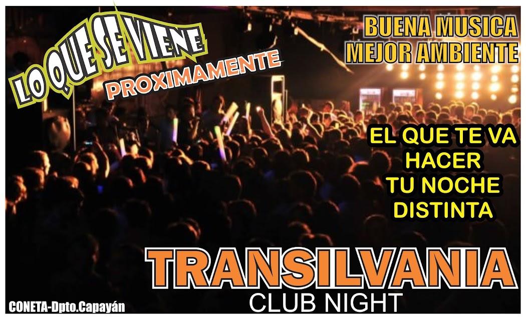 TRANSILVANIA CLUB NIGHT