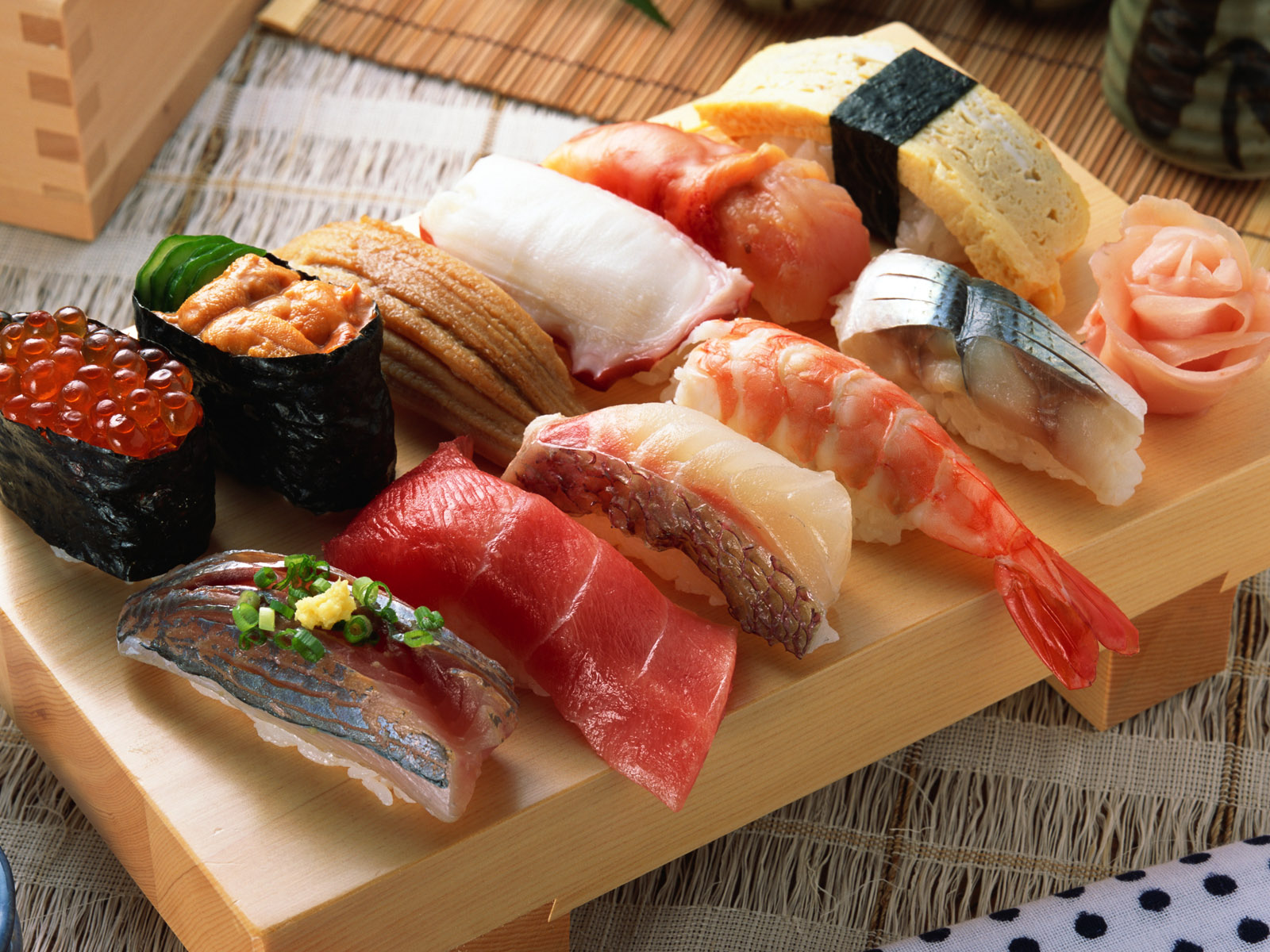 Aprenda a preparar los distintos tipos de sushi
