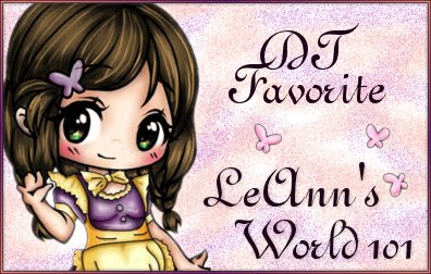 DT Favorite at LeAnn's World 101 Challenge Blog