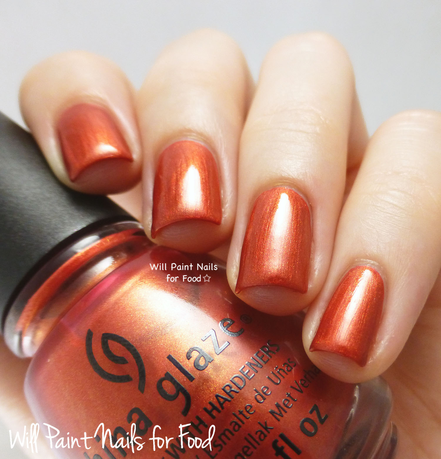 China Glaze Stop That Train! swatch