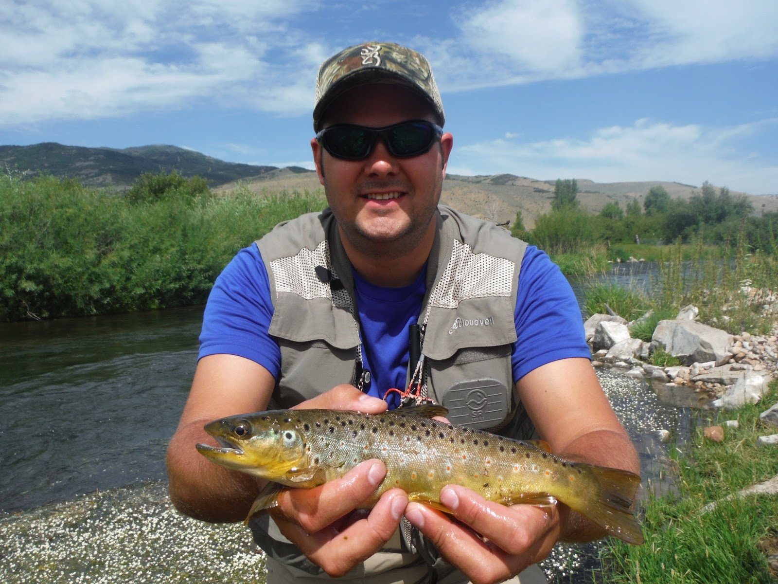 Fly fishing the west with howard back to the weber river for Weber river fishing
