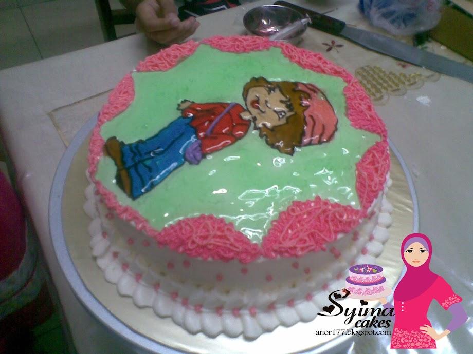 Buttercream-RM 75.00 (Sponge kek)