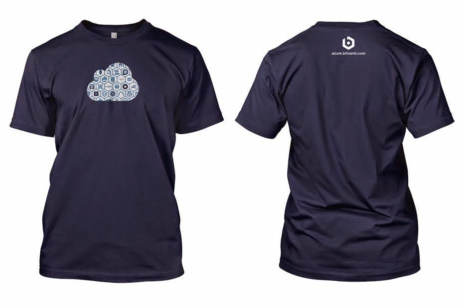 Free limited edition Bitnami t-shirt