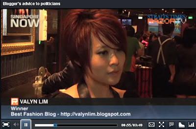 获奖了!!2011 新加坡部落格大奖《最佳时尚部落格》- Part 2 之 幕后花絮, MobileRadio.hk电台访问,Omy.SG & RazorTV的媒体报导