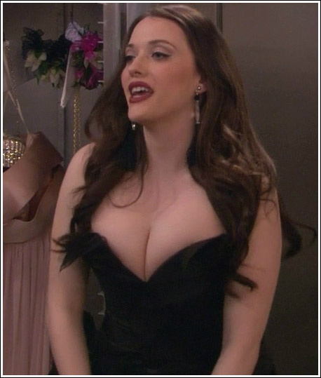 Hot kat dennings cleavage the talented