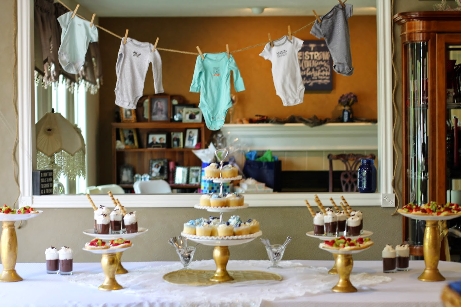 cake stand baby shower
