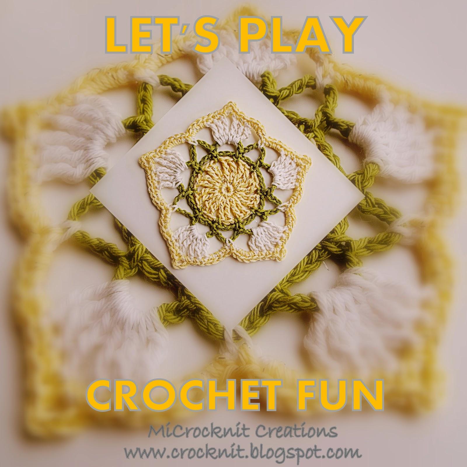 LETS PLAY CROCHET FUN BARBARA SUMMERS