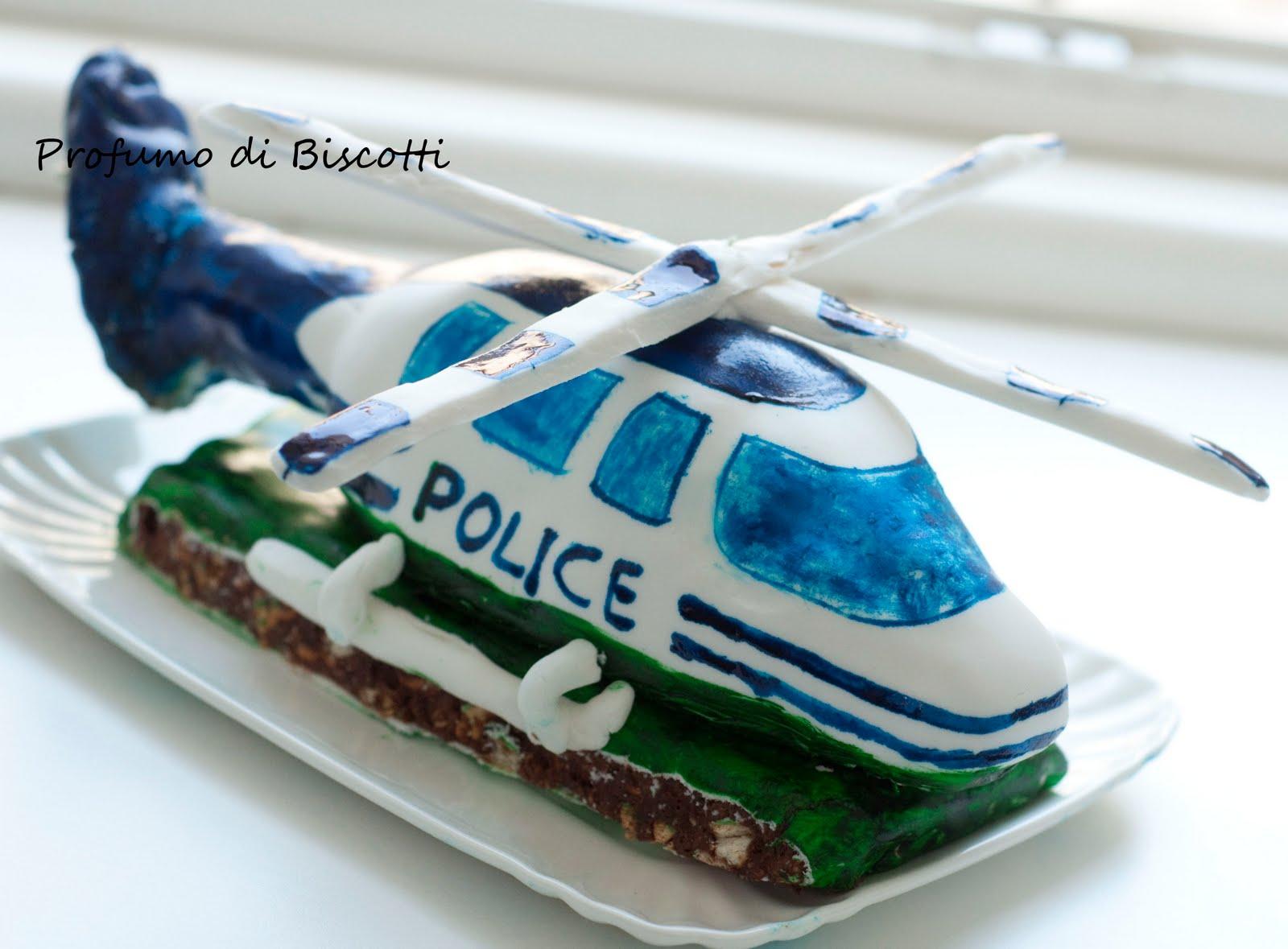 Un Elicottero : Profumo di biscotti torta di compleanno l elicottero