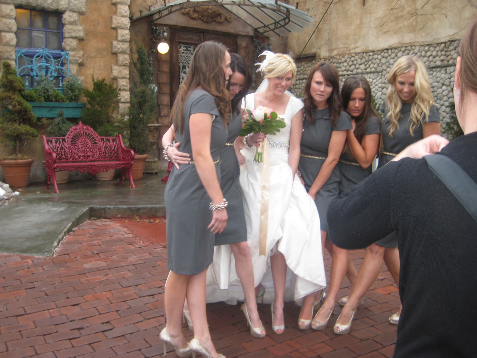 Brittany and abby hensel wedding pictures