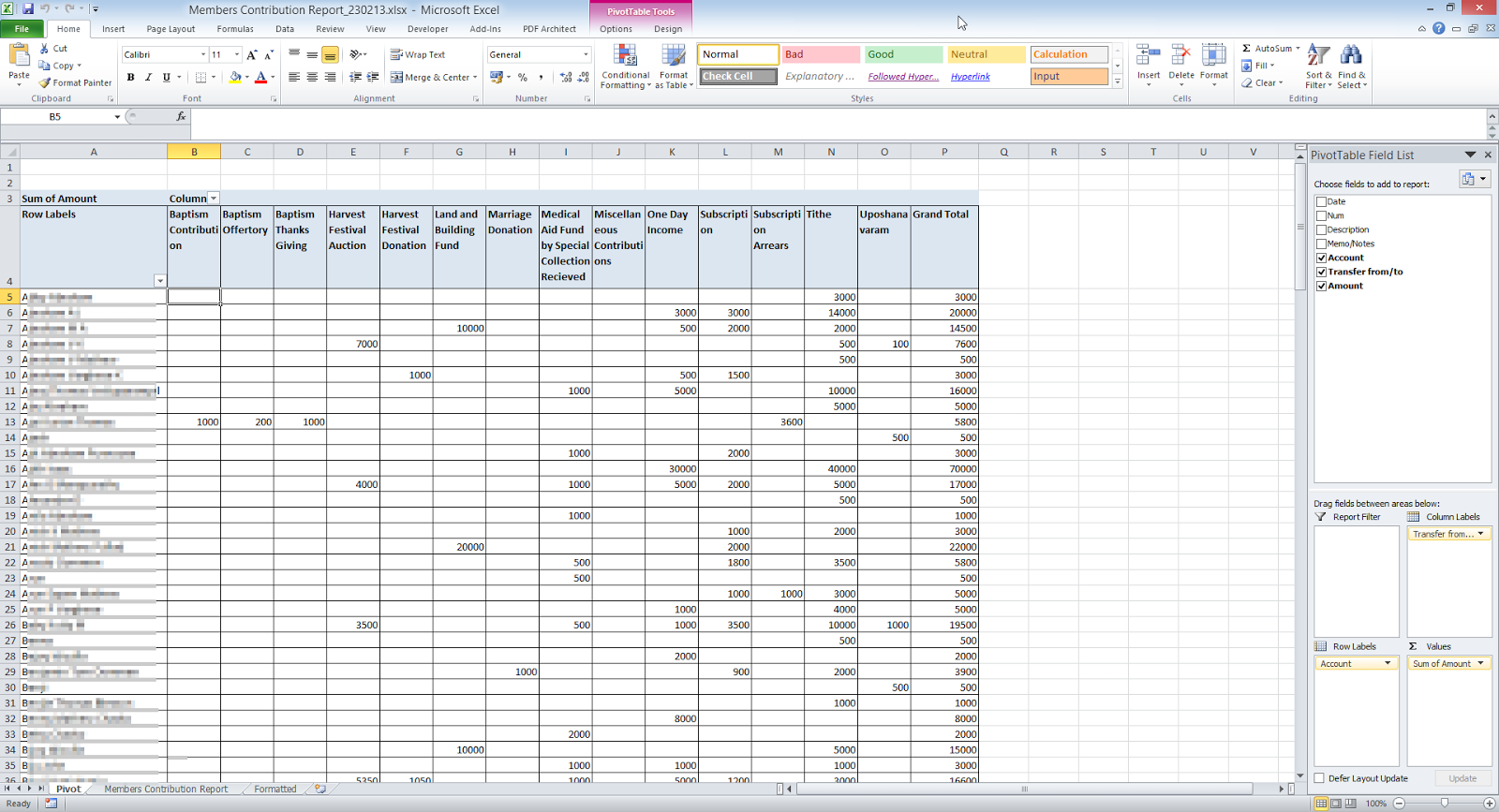 10 Column Accounting Worksheet As Well As Blank 10 Column Accounting ...