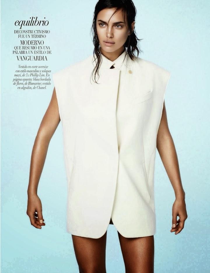 Una Visión Etérea: Irina Shayk By David Roemer For Vogue Mexico January 2014 3.1 Phillip Lim