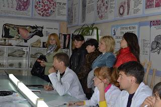 Учні загальноосвітніх шкіл Єланецького району в Миколаївському ДАУ.