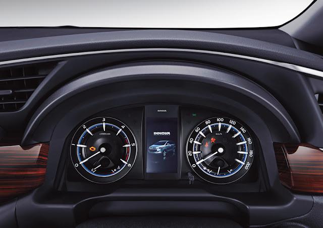 toyota-innova-instrument-cluster 2016 டொயோட்டா இன்னோவா எம்பிவி கார் அறிமுகம் - Toyota Innova