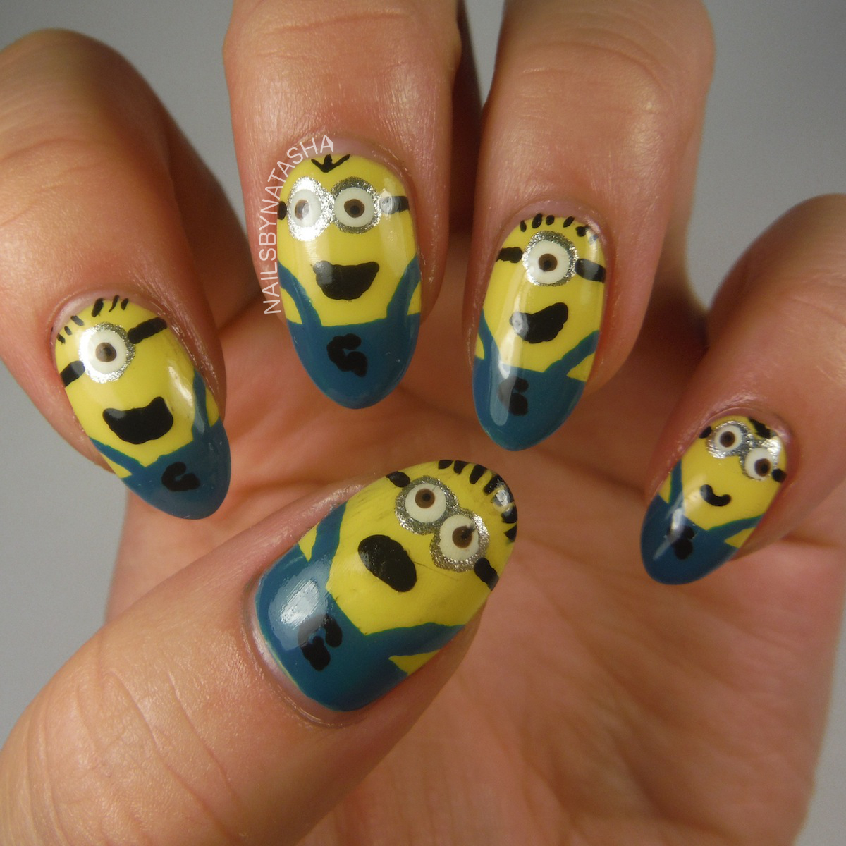 Nails By Natasha: Nail Art August Day 3: Character