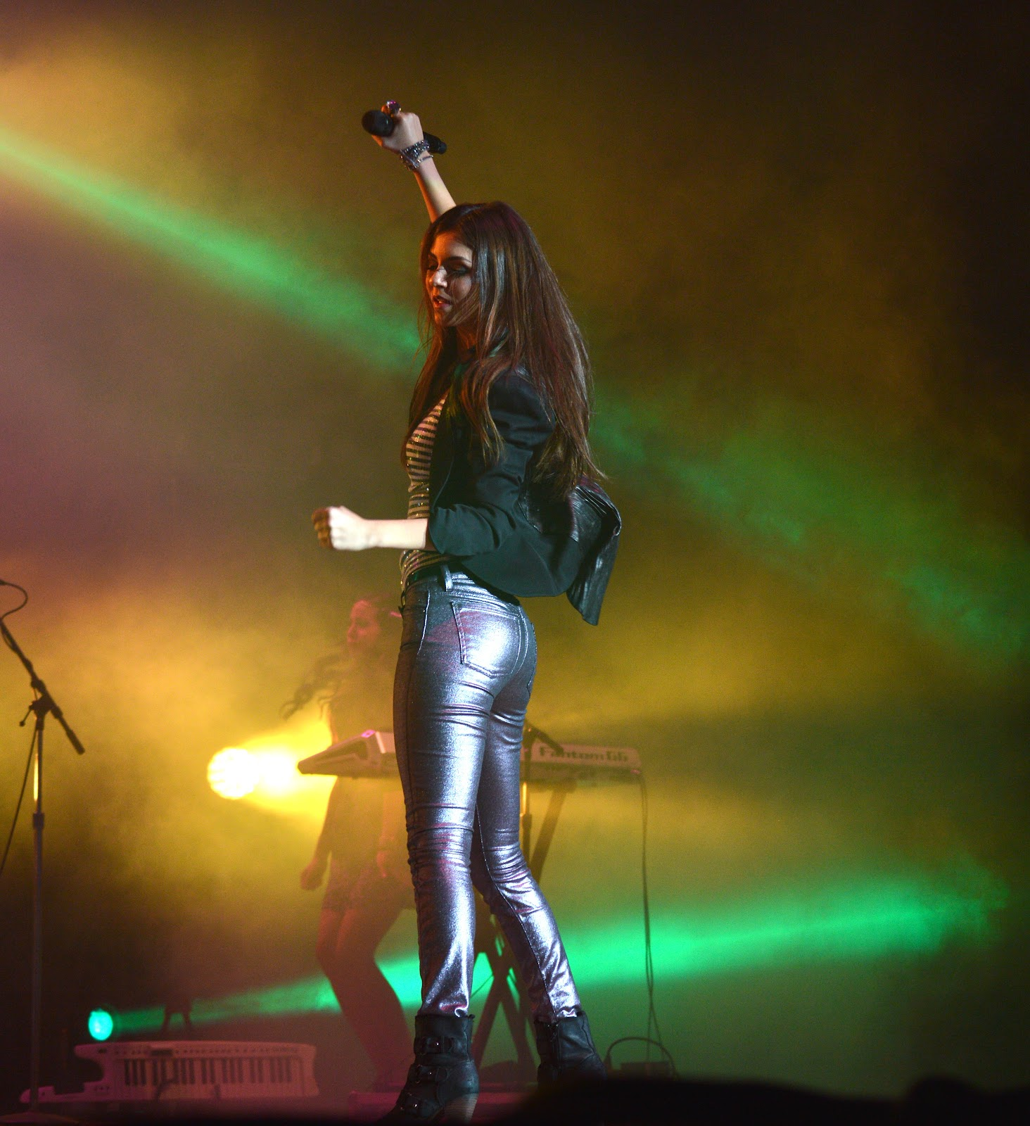 Email This BlogThis  Share to Twitter Share to Facebook Share to    Victoria Justice Leather Pants
