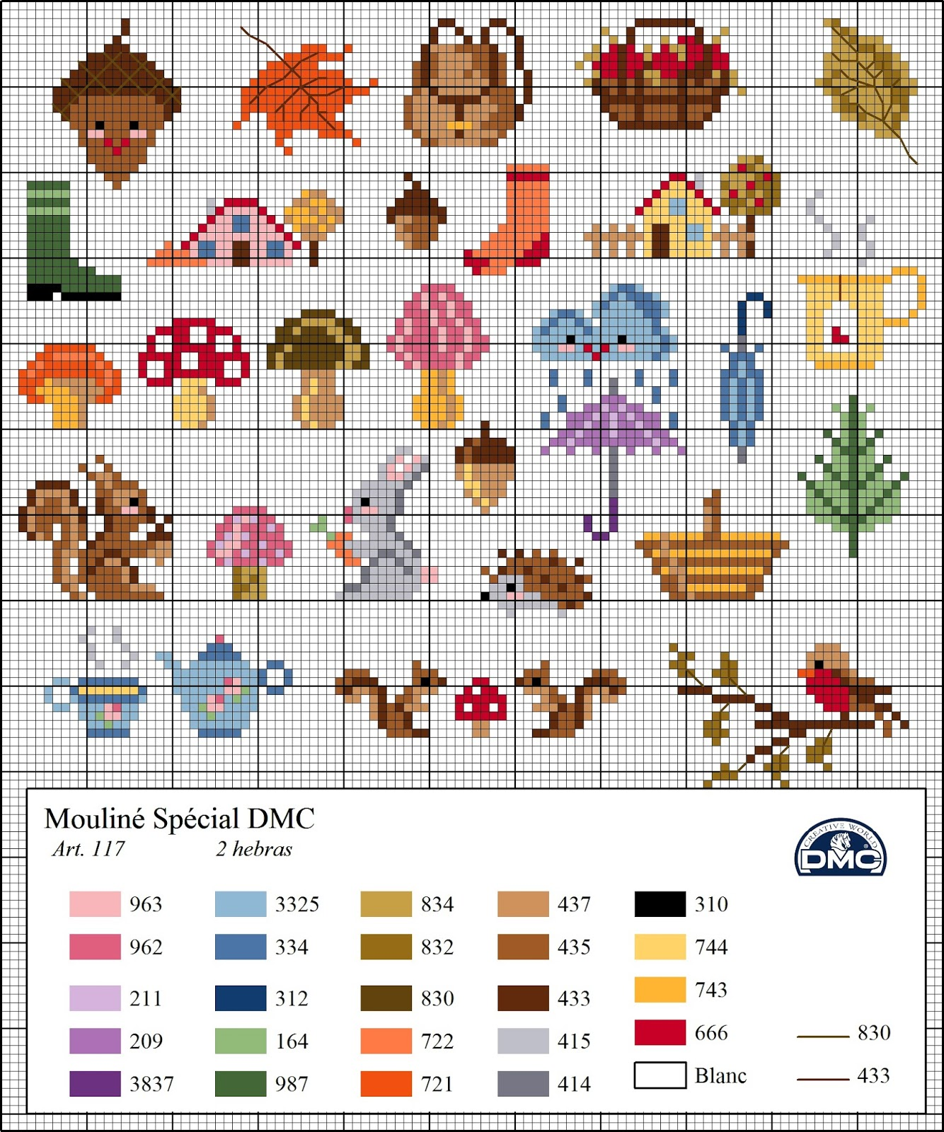 It is a photo of Adorable Free Printable Mini Cross Stitch Patterns