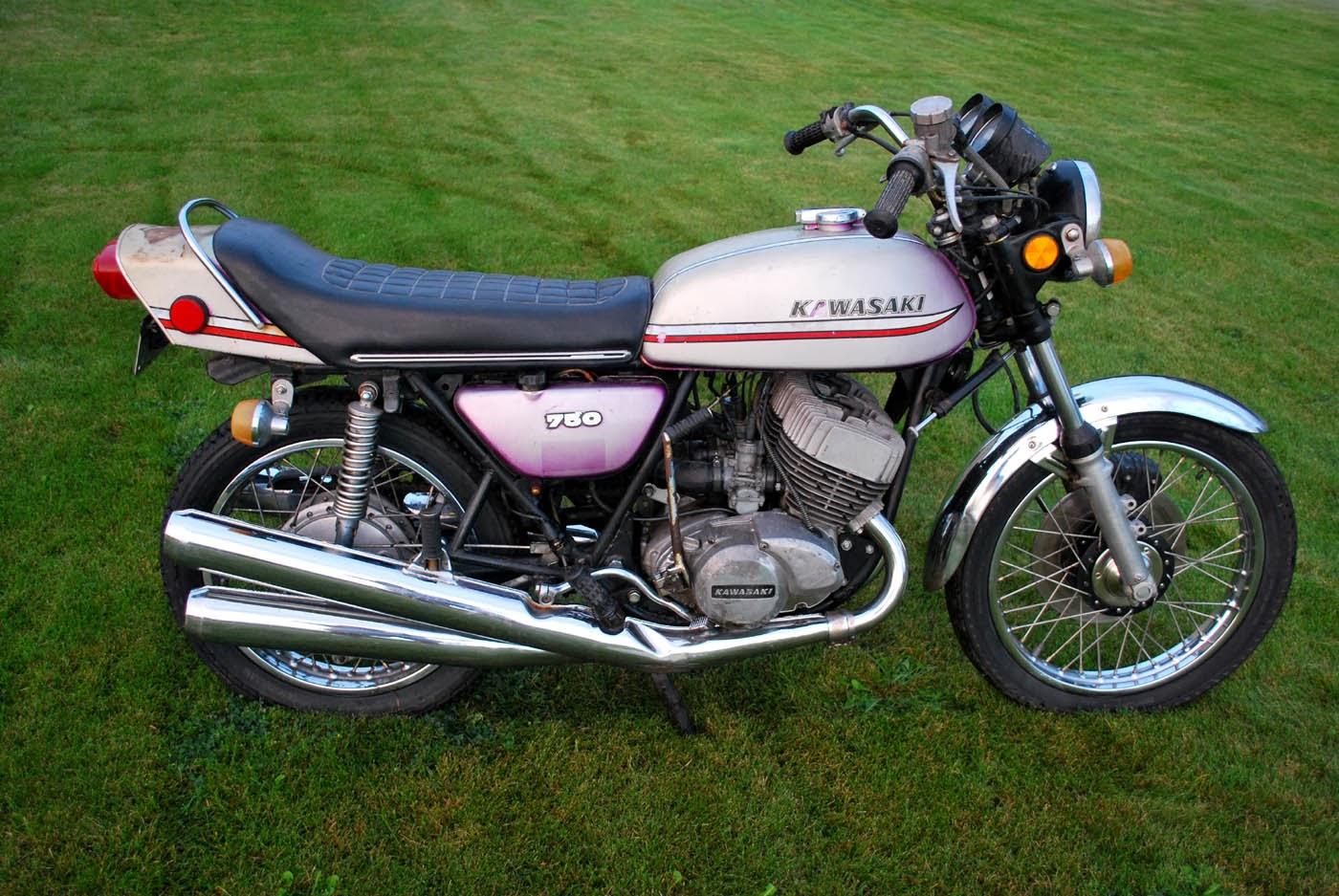1974 Kawasaki H2 750