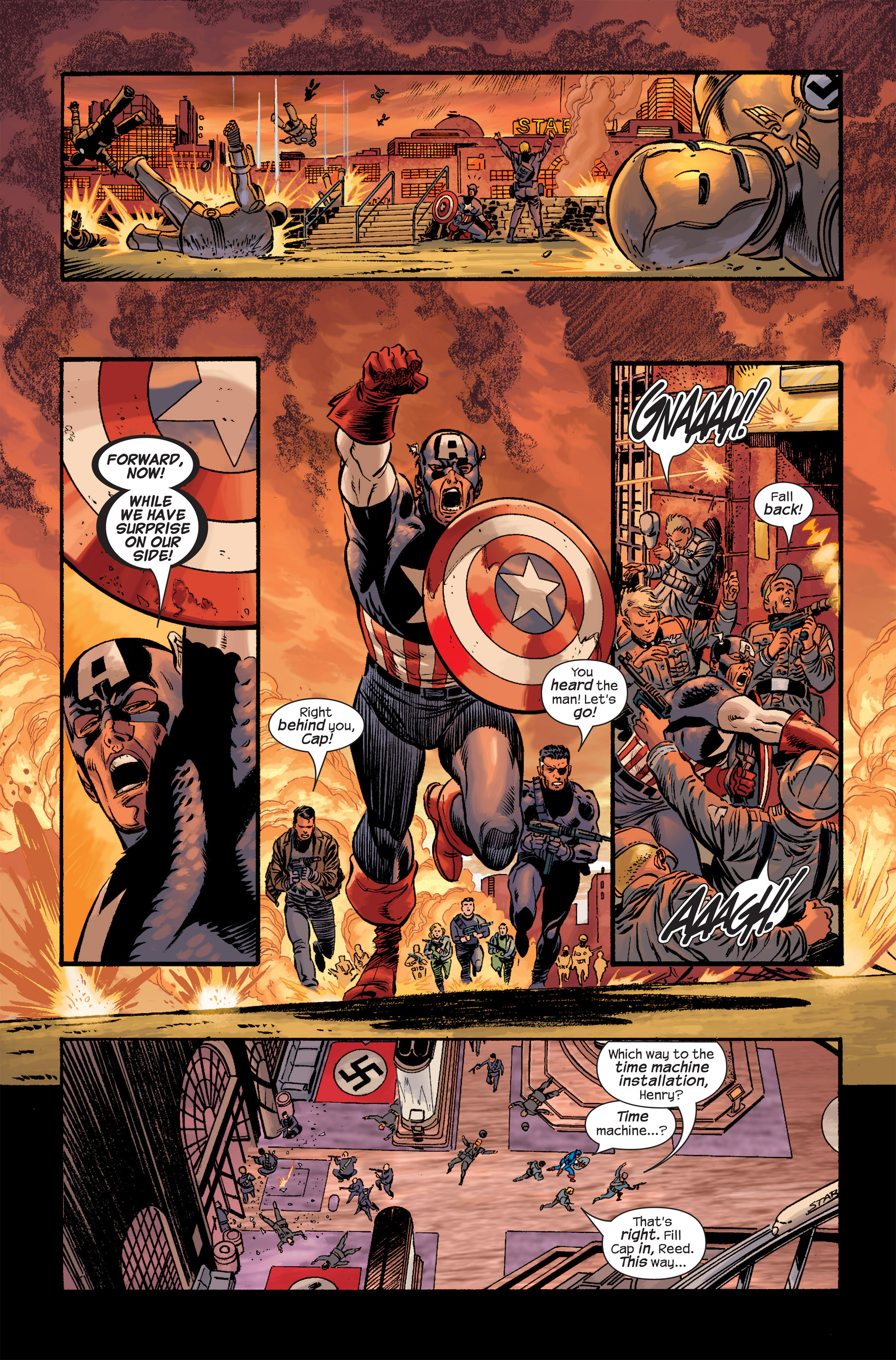 Captain America (2002) Issue #20 #21 - English 7