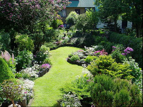 Garden design small garden design pictures for Sunny landscape designs