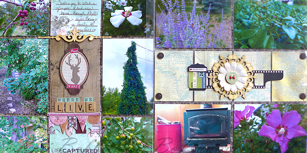 Where We Live Misc Me by Keri Babbitt using BoBunny Mix and Match Collection