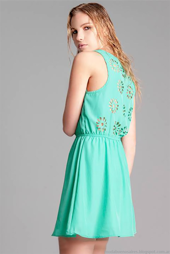 Moda verano 2015. Vestidos primavera verano 2015.