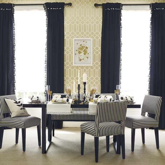 Elegant wallpaper for dining room cool teenage girl rooms 2015 - Trend wallpaper dining ...