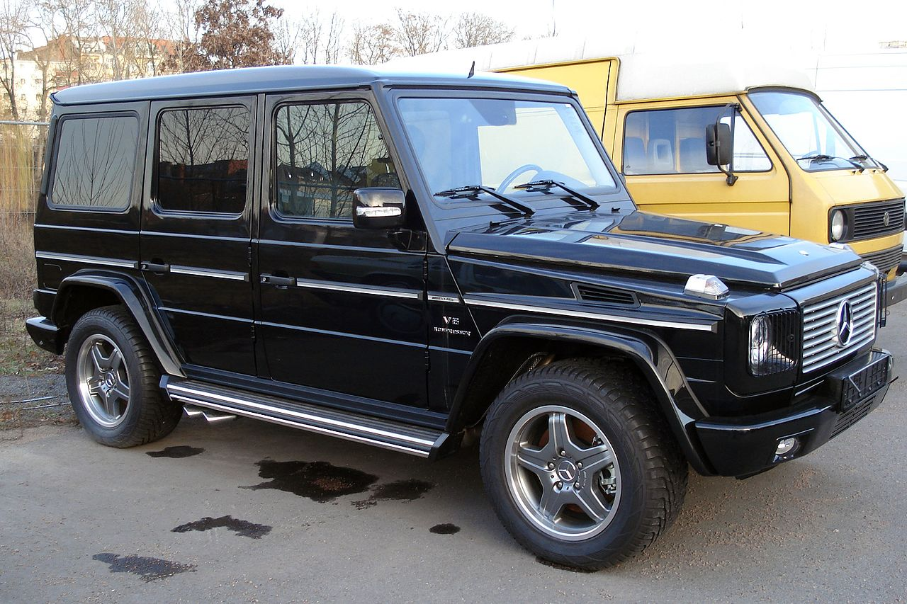 Puch g modell w 460 230 g 102 hp for 2004 mercedes benz g class