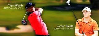 Tiger Woods and Jordan Spieth