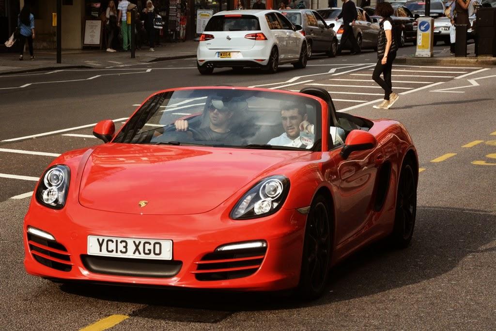London Porsche Spider
