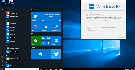Kumulatif Update Windows 10 Version 1709 (OS Build